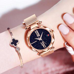 Relógio MagSky Celeste Céu Estrelado